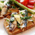 Sardines & Brown Bread