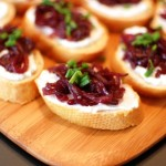 Onion Crostini