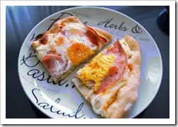 breakfast pizza edit