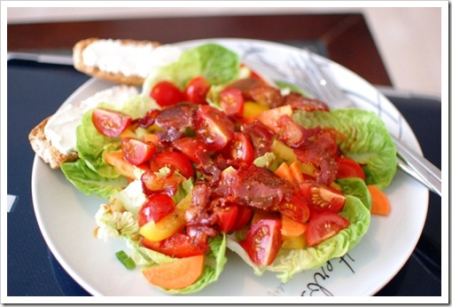 chorizo salad
