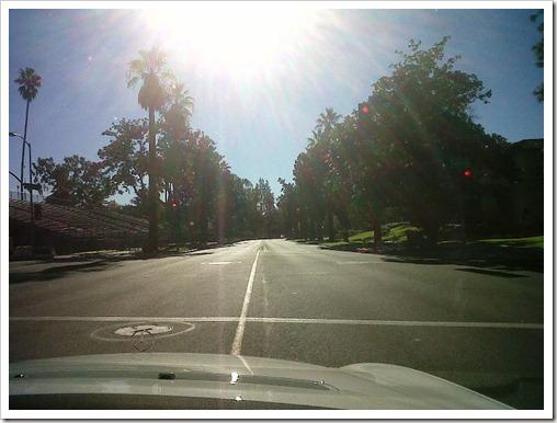 la driving