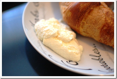 croissant ricotta