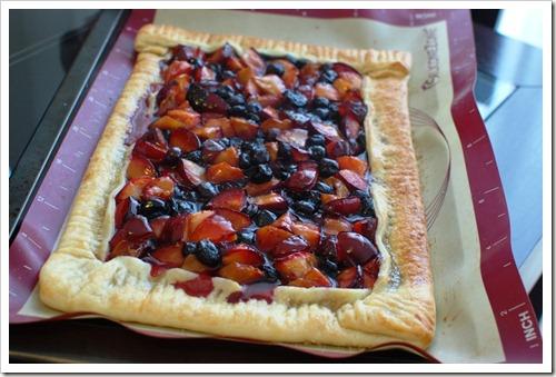 dinner fruit tart