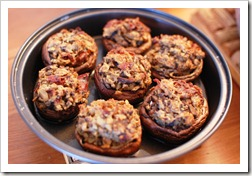 HO stuffed mushrooms