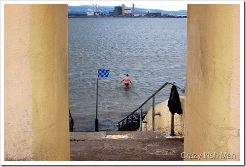 Clontarf Swim Man