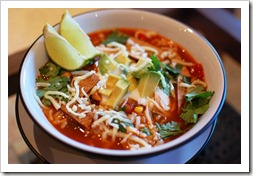 Irish Food Mexican Tortilla Soup