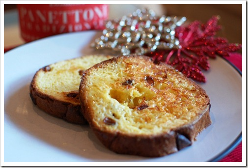 Panetoni French Toast Irish Food