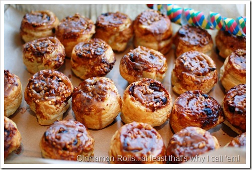 Sky cinnamon rolls