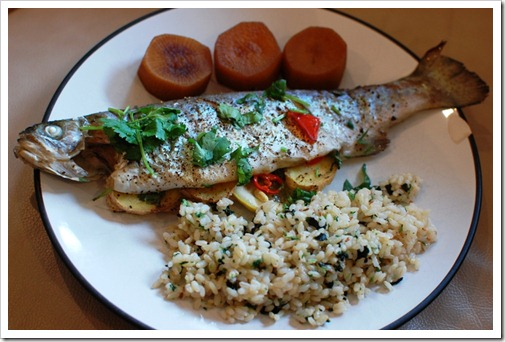 Trout Cooked