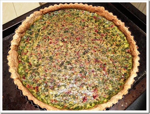 Beet Greens Tart Irish Food