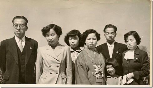 Family photo, Erly March 1953, (1)