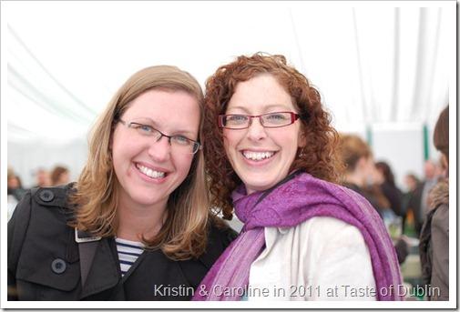 Kristin and Caroline