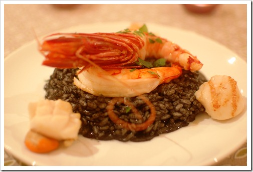 Squid Ink Risotto Kleinedler