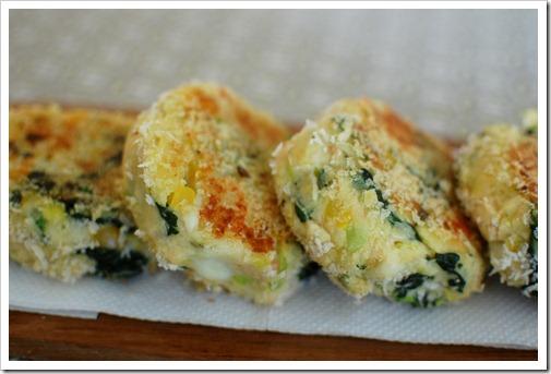 Potato Veggie Cakes Clare Kleinedler